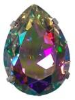 Piedras cristal engarzadas